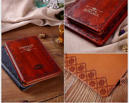 Wholesale Luxury Retro Ancient Vintage Old Flip Book Style PU Leather Case Magnetic Stand Smart Cover For iPad Mini mini tablet