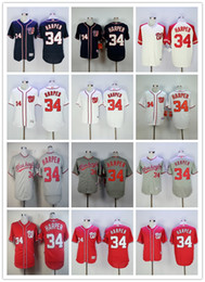 Cheap 34 Bryce Harper Jersey MLB Washington Nationals Baseball Jerseys Flexbase Cool Base Stitched Team Color Navy Blue Red White Grey