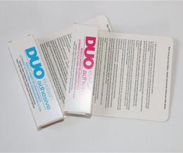2016 outils gratuits d'expédition 600pcs en stock Adhésifs imperméables à l'eau DUO (colle) 9G Blanc / BlacK Make Up Tools Professionnel Livraison gratuite outils gratuits d'expédition autorisation
