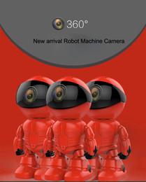 Ip ios came en Ligne-30PCS Maxde 2017 Nouveau Wireless Red Robot WIFI Caméra IP P2P Caméra CCTV Moniteur de bébé Surveillance HD H.264 Objectif IR pour Android iOS