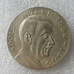 Wholesale German Hitler copy coins Promotion Cheap Factory Price nice home Accessories Silver Coins