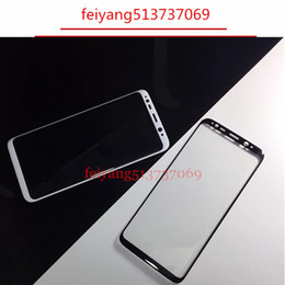 10pcs Full 3D Curved Tempered Glass Film For Samsung Galaxy s9 s9p S8 G950  S8 Plus G955 note 8 Front Protective Screen Protector Full Cover