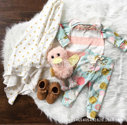 NWT 2016 New cute Baby Girls Boys Outfits Set Summer Spring Sets Boy Cotton Tops Shirts blouse + Harem Pants 2piece set - Stripe Rose Floral
