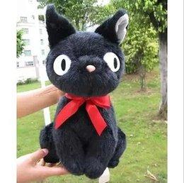 Wholesale CM KiKis Delivery Service JIJI CAT Plush Toy Stuffed Animal Doll PC Black cat