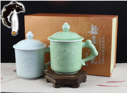 chinese tea tray ceramics high quality bone china mug