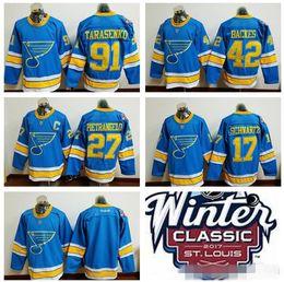 Wholesale St Louis Blues Winter Classic Hockey Jerseys Vladimir Tarasenko David Backes Alex Pietrangelo Alexander Steen Schwartz