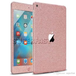 Wholesale For Ipad Mini Colorful Stickers Sparkle Decal Glitter Protector Stickers Full Cover Bling Bling Stickers For Ipad Mini In Retail Package