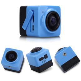 TEKCAM x360 360 Degree Panorama Action Camera WIFI 1280*1042 28pfs Sport Camera 1pcs lot