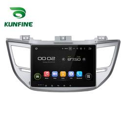 Consola gris en Línea-10.1 '' Quad Core 1024 * 600 Reproductor de navegación del GPS del coche del DVD del coche del androide 5.1 5.1 Stereo del coche sin cubierta para HYUNDAI IX35 / TUCSON 2015 Radio Bluetooth
