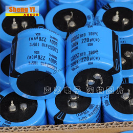 Wholesale The new US chemical D series UF V high voltage capacitor solutions fever tube amp filter capacitor