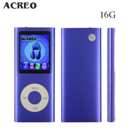 Wholesale 1 LCD MP3 MP4 GB Portable MP3Player MP4 Player Video Player Music Player Media Player Audio Player Purple