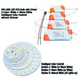 Wholesale Sectional Dimming SMD5730 LED PCB W W W W W W W W White Warm White Light Source with LED Driver