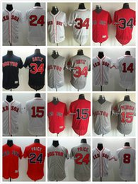 Wholesale Boston Red Sox David Ortiz Jim Rice Dustin Pedroia David Price Carl Yastrzemsk Ted Williams Cool Base Stitched Baseball Jersey
