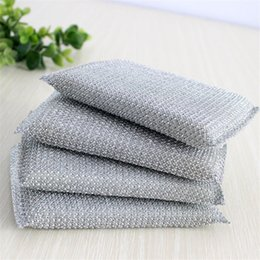Wholesale High Quality Sponge Pads Dish Washing Household Cleaning Items Scouring Pads Home Kitchen Cleaning Sponge Tools Brushes