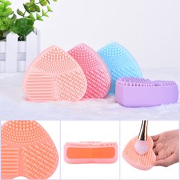Wholesale Brush Makeup Cleaning Brush Ceaner Cleaning Tool Colors Can Be Mixed Batch of Factory Direct
