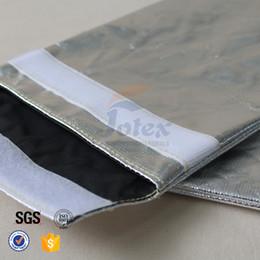 Sacs ignifuges à vendre-Sac de document à l'épreuve des cadeaux de Noël en papier de fibre de verre en aluminium sans sac de poche pour passeport en liquide déchiffré