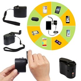 Wholesale Useful Hand Crank USB Cell Phone Emergency Charger USB Hand cranked Generator APE