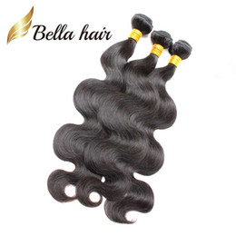 3 Bundles 8A Top Quality Indian Hair Weft Natural Color Body Wave Wavy Human Hair Weave Free Shipping