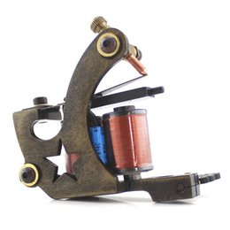 Wholesale New Arrival Advanced Custom Iron Star Tattoo Machine for Shader Tattooing with Shipping Free Service