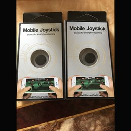 Argentina Mini joystick móvil Samrtphone controlador de juegos 3rd Genertaion Wireless Rocker plástico pantalla táctil Joysticks para el iPhone de iPad teléfono celular Suministro