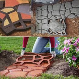 Wholesale DIY Pavement Mold Driveway Paving Brick Patio Moldes Para Concreto Slabs Path Pathmate Garden Stone Walk Maker Mould