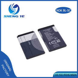 For Nokia bl-5c Li-ion polymer battery BL5C 1020mAh Mobile Phone Accessories Parts For 1100 1680 2270 2285 2320 Classic 2330 2610 3100 3660