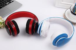 Wholesale Universal Smart Sports Bluetooth Headphones Best Bluetooth Version Wireless Headset Brand Stereo Earphones With Microphone Handsfree Cal