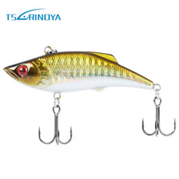 Wholesale TSURINOYA Outdoor Fishing Lures Colors Fish Artificial Bait Crankbait Tackle Fishing Lure with Treble Tackle Hook Baits Lure B