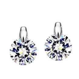 2017 boutiques de charme Neoglory Charm Cute Stud Earrings Femmes Cadeaux fille Cadeaux Mariage Mariage en ligne Bijoux Indiens 2017 Nouveau boutiques de charme sur la vente