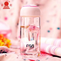 Enfants bouteille en verre bouteille d'eau mignon Style Nouveau design aujourd'hui Spécial verre Sports bouteilles d'eau Drinkware Livraison gratuite à partir de bouteilles d'eau gratuits pour les enfants fabricateur
