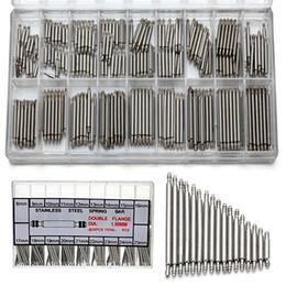 2017 bandas de acero inoxidable enlaces Venta al por mayor-360 pcs 8 mm - 25 mm de acero inoxidable banda de reloj correa de resorte barra vínculo pins herramienta bandas de acero inoxidable enlaces promoción