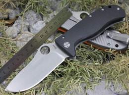 Araignées noires en Ligne-Spider Benchmade bailisong Steel Lion Knife (Noir, Orange) couteau de camping couvre 1pcs dropshipping freeshipping