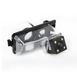 Car Rear View Cameras With LED Lights For Nissan Tiida Livina Geniss Versa HB GT-R Reverse Camera # 4032