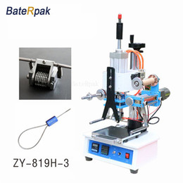 ZY-819H-3 Automatic Stamping Machine,pressure words machine,LOGO stampler,automatic Numbering machine(220V 50Hz)