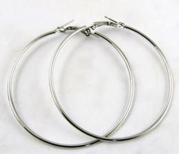 Large Hoop Earrings for Women Silver Gold Color 30mm 40mm 50mm 60mm 70mm 80mm 90mm 100mm Basketball Wives Earrings New Hot