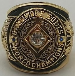 Wholesale Nouveau Baltimore Colts Super Bowl Championship Rings