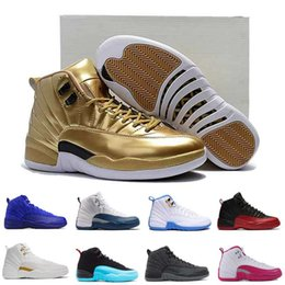 Wholesale Air retro Wool Sunrise Pinnacle Metallic Gold OVO white Deep Royal Blue GS Barons Flu Game Taxi Gamma Blue master Mens Basketball Shoes
