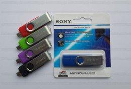 Disque flash haute vitesse à vendre-16 Go / 32 Go / 64 Go / 128 Go / 256 Go Lecteur flash USB SONY OTG / pendrive / clé OTG / USB haute vitesse OTG USB Disque de stockage externe / disque U