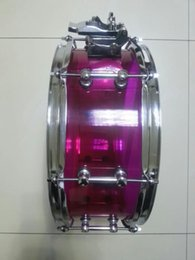 Wholesale Brand New Purple Acrylic quot quot Professional Quality Snare Drum Custom Order acceptable