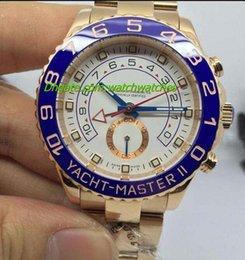 Wholesale 2017 Fashion watch NEW Yacht II k Yellow Gold Automatic Men Watch Men s Watch