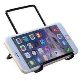 Universal Mini Multi Angle Metal Stand Holder Bracket for iPhone iPad Mini Air Galaxy Tab Kindle Fire Tablet PC Smart Phone Adjustable
