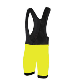 2017 Mens Fluorescent Culotte Cycling Bib Shorts Summer Coolmax Gel Pad Bike Tights Mtb Ropa Ciclismo Moisture Wicking short Pants
