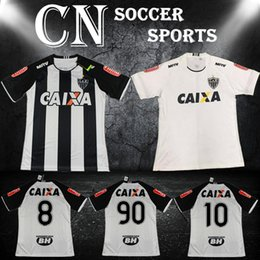 Wholesale Brazil Atletico Mineiro home football jersey Adult s designer jerseys men s top thai quality short sleeve sportswear uniforms