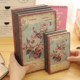 Wholesale Sheet China Wholesale - Vintage China style creative color illustrations the cover is made of cloth flowers 96 sheets diary notebook