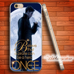 Coque ONCE UPON TIME Soft Clear TPU Case for iPhone 7 6 6S Plus 5S SE 5 5C 4S 4 Case Silicone Cover.