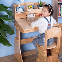 Wholesale 2017 New The oak Eco friendly Learning Table for Children Arrivals Multifunctional Student Writing Desk Non toxic Harmless