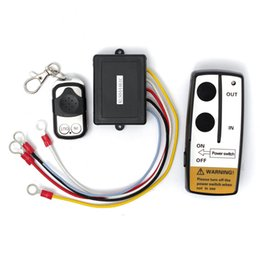 Wholesale Good quality V ft Wireless Winch Remote Control Set Kit With Key Fob For Truck ATV SUV Auto Winch