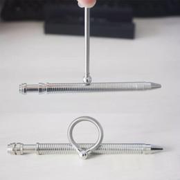 2017 newest Think ink pen decompression toy thinks pen pencil hand fidget novelty toys thinking pens Fidget Magnetic metal stress pen
