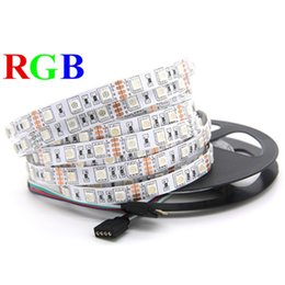 Eyoumy SMD 5050 60leds M RGB LED light strip Non-waterproof 5M 300leds RGB DC 12V LED Strip