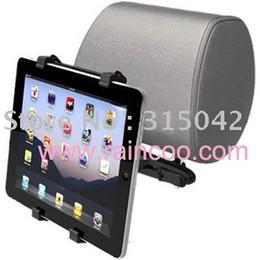 Apoyo para la cabeza del coche bolsa de montaje en Línea-Sostenedor de la tableta al por mayor, montaje del GPS, montaje del apoyo para la cabeza del coche para la PC de la tableta, para el ipad, soporte universal para PDA, embalaje del bolso de los PP